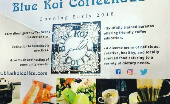 Blue Koi Coffee Bellingham